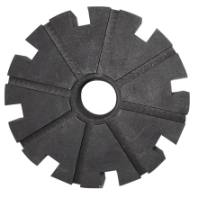 High Purity Anti-Oxidation Graphite Rotor for Aluminum Melting
