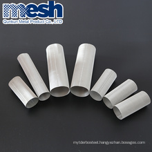 Stainless steel wire wrap tupe well wedge water screen filter pipe