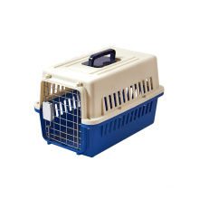 Cats and dogs out of the plane to check pets in a portable air box