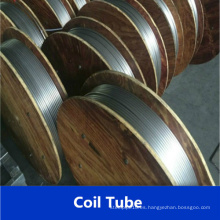 Tubería en espiral de acero inoxidable ASTM A269 304