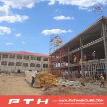 2015 Pth Customized Design Large Span Estructura de acero Almacén