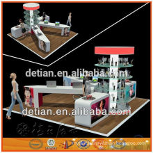 Hot sell custom glass display stand for exhibition or store