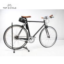 Fixie alto padrão fixo engrenagem bicicleta 700C bicicleta elétrica
