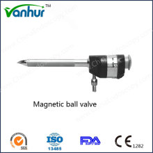 Reusable Magnetic Ball Valve Trocar