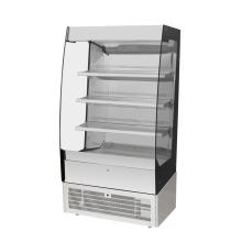 Vitrine de bolo de exibição para geladeira de caixa de armário de padaria