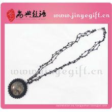 Shangdian Hand Crafted Gemstone Colgante de joyería de ganchillo