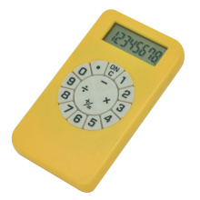 Mini Travel, 8 Digit Pretty, Fancy Keypad Calculator