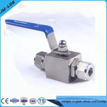 2014 hot sale ss316 6000psi bar valve à bille en Chine
