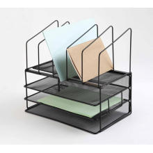 Wire Metal Mesh Document Tray with Rack