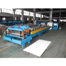 Máquina formadora de rolo de telha de aço (molde único)