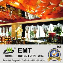 High-End Hotel muebles de madera decorativos paneles de techo de madera (EMT-F1209)
