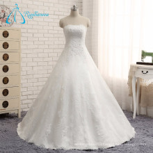 2017 Beading Pearls Sequined Real Wedding Dress