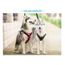 Arnés de perro Ajustable Chaleco de mascota Arnés de mascota al aire libre
