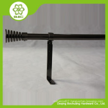 cheap metal curved iron curtain rod