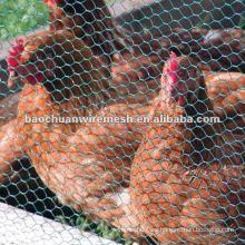 Pvc verde cubierto de vallas de metal valla para criar animales