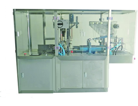 YC-350B Three-dimensional transparent film packaging machine