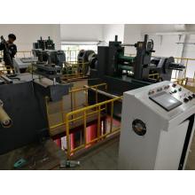 Máquina cortadora de tiras de cobre de metal de precisión