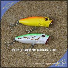 PPL005 8cm 12g Popper señuelo flotante señuelo de la pesca