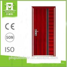 Puertas de madera planas resistentes al fuego diseño puerta a prueba de fuego de zhejiang
