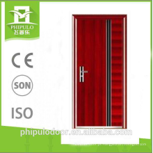 o fogo contínuo liso avaliou as portas de madeira projetou a porta da prova de fogo de zhejiang