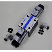 Solenoid valves are used in industrial control systems