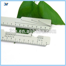 Optical Plastic PD Ruler for Measuring Pupil Distance