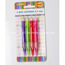 4PCS Mini Mechanical Pencil with Eraser Au116