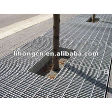 galvanized steel grating for tree
