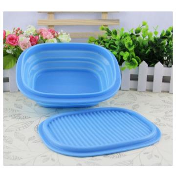 Candy Color Shock-proof Silicone Kids Bowl Foldable
