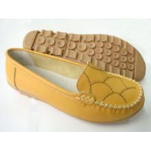 Classic Comfort Lady Shoes avec semelle plate TPR (SNL-11-001)