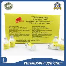 Médicaments vétérinaires de procaine Penicilline 4mega Injection