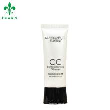 Cosmetics Usage and screen printing cc cream Cosmetic Type plastic tube