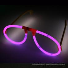 Lunettes Glow Stick Rose