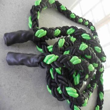 8 Strand PP Rope Black y Green