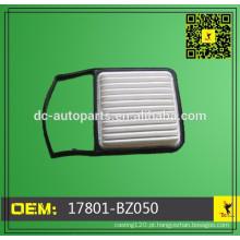 Toyota Filtro de Ar OE 17801-BZ050,17801BZ050 personalizado