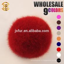 2015 Fashion New Party Accessories Rabbit Fur Ball Hotsale Lovely Подлинная 5-10 см кролик Настоящие меховые помпы