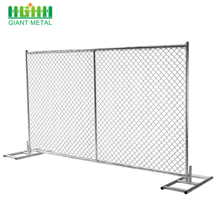 removable iron fence