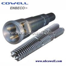 Twin Screw Barrel para máquinas de plástico