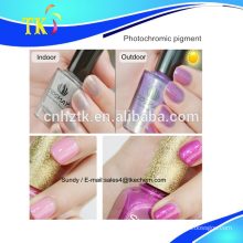 Photochromic pigment can color change in sunlight / UV color change ink .