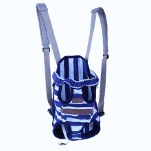 Breathable Mesh Pet Carrier Backpack Oxford Canvas Dog Pet Front Backpack