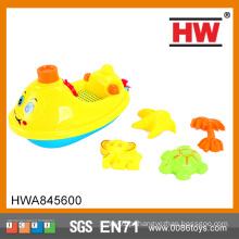5PCS Carton Modelo Summer Play Set Crianças Beach Toy