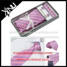 Caja de empaquetado hecha de alta calidad de la corbata de papel