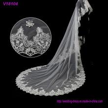 Weiß Günstige und schöne 1MW * 3ml Hochzeit Brautschleier