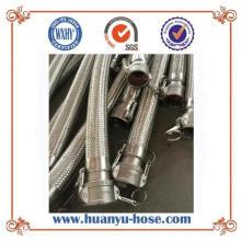 Acoplamiento rápido del conectador Manguera de acero flexible flexible del metal