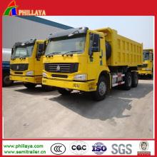 Sinotruk 371HP HOWO A7 6X4 Dump Truck
