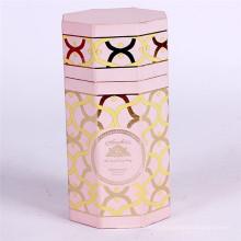 Boîte faite sur commande de papier cadeau de cylindre d'emballage de chocolat