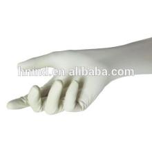 Latex surgical glove powder free