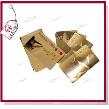 Сублимация зеркало золото листового металла для бренда