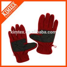 Women polar fleece gloves with thinsulate lining