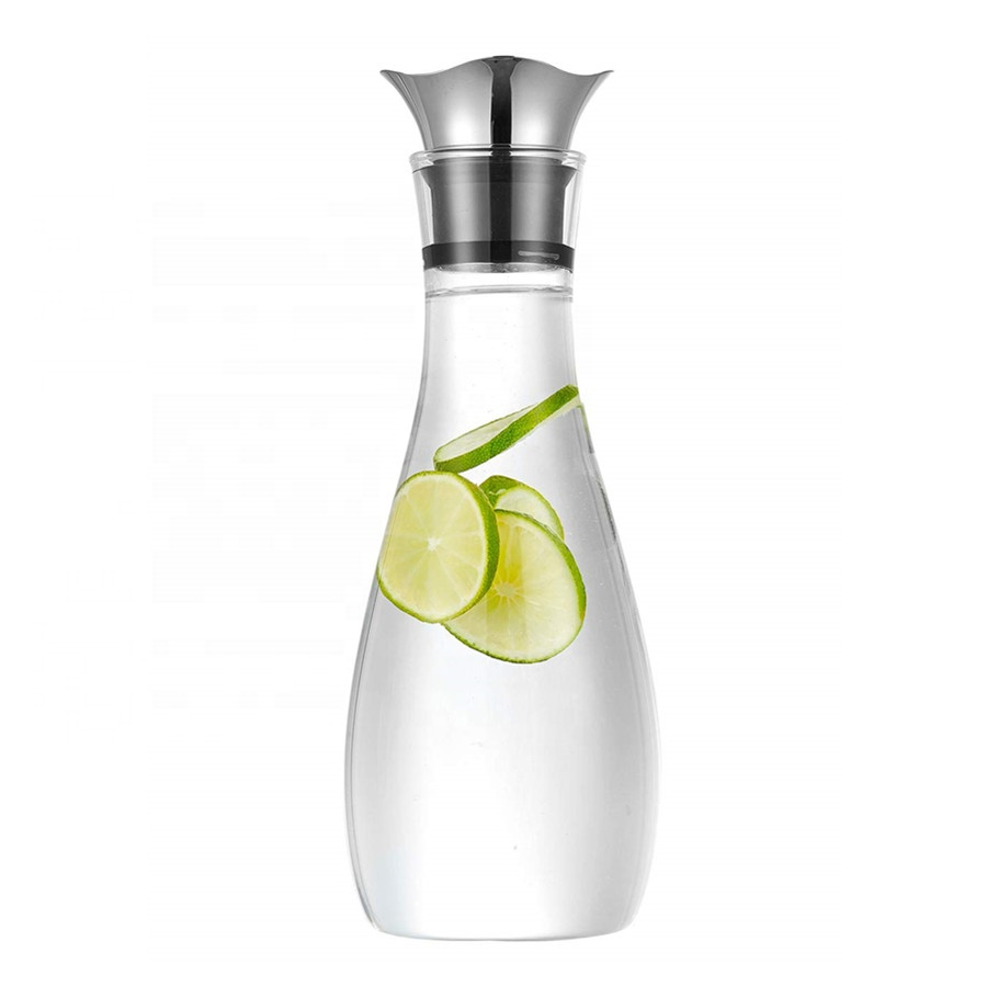 Glass Drip Free Carafe With Stainless Steel